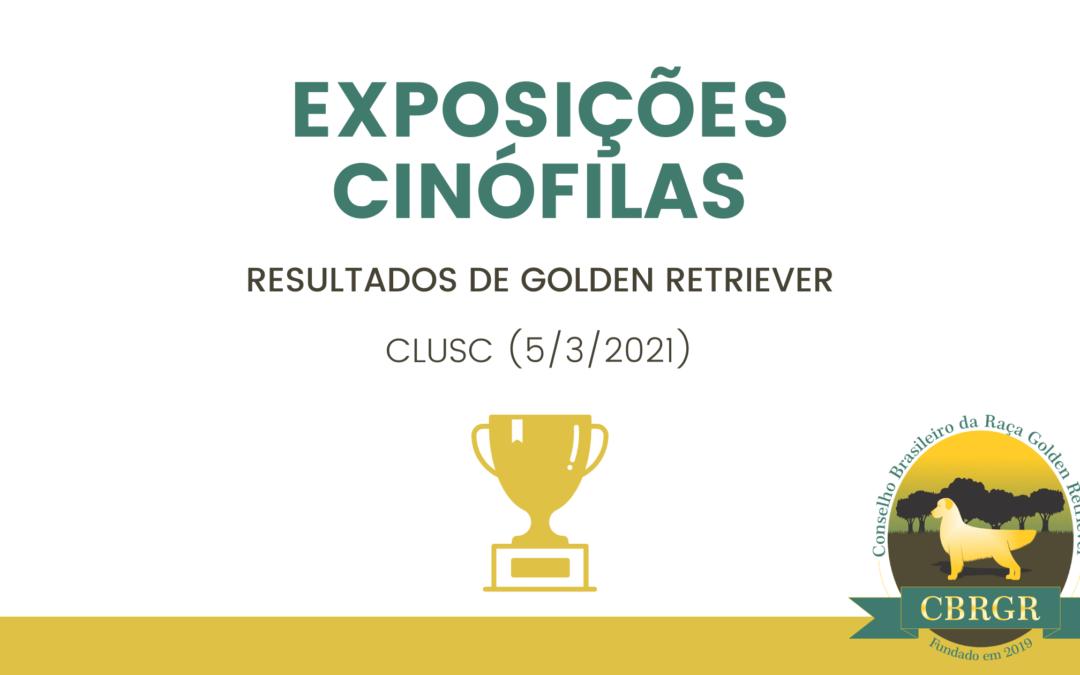 Resultado da Expo CLUSC - Março 2021